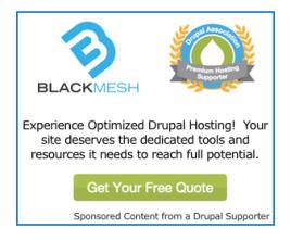Website platform Drupal
