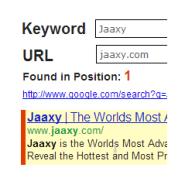 Jaaxy keyword ranking
